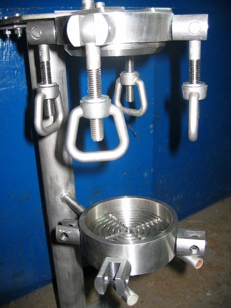 Filter press for Universidad de Cantabria lab.